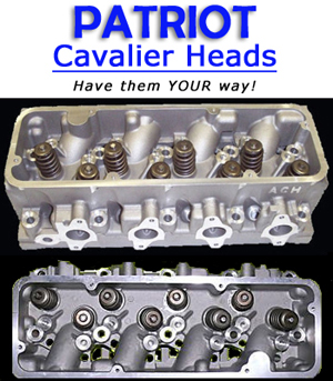 Patriot Cylinder Heads for Cavalier 2.2L
