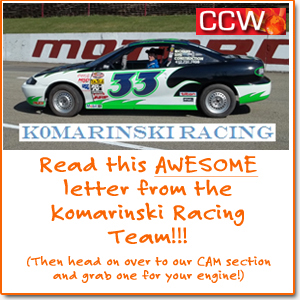 Komarinski Racing gives us a great review!
