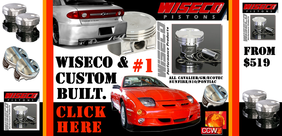 chevy cavalier world chevy cavalier performance engine parts Mazda 6 Tuner cavalier sunfire s10 wiseco pistons